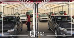 Massive repair of vehicles