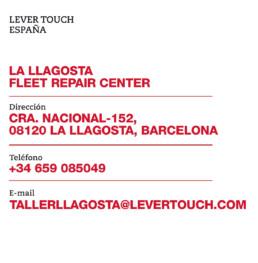 Lever Touch España Fleet Repair Center