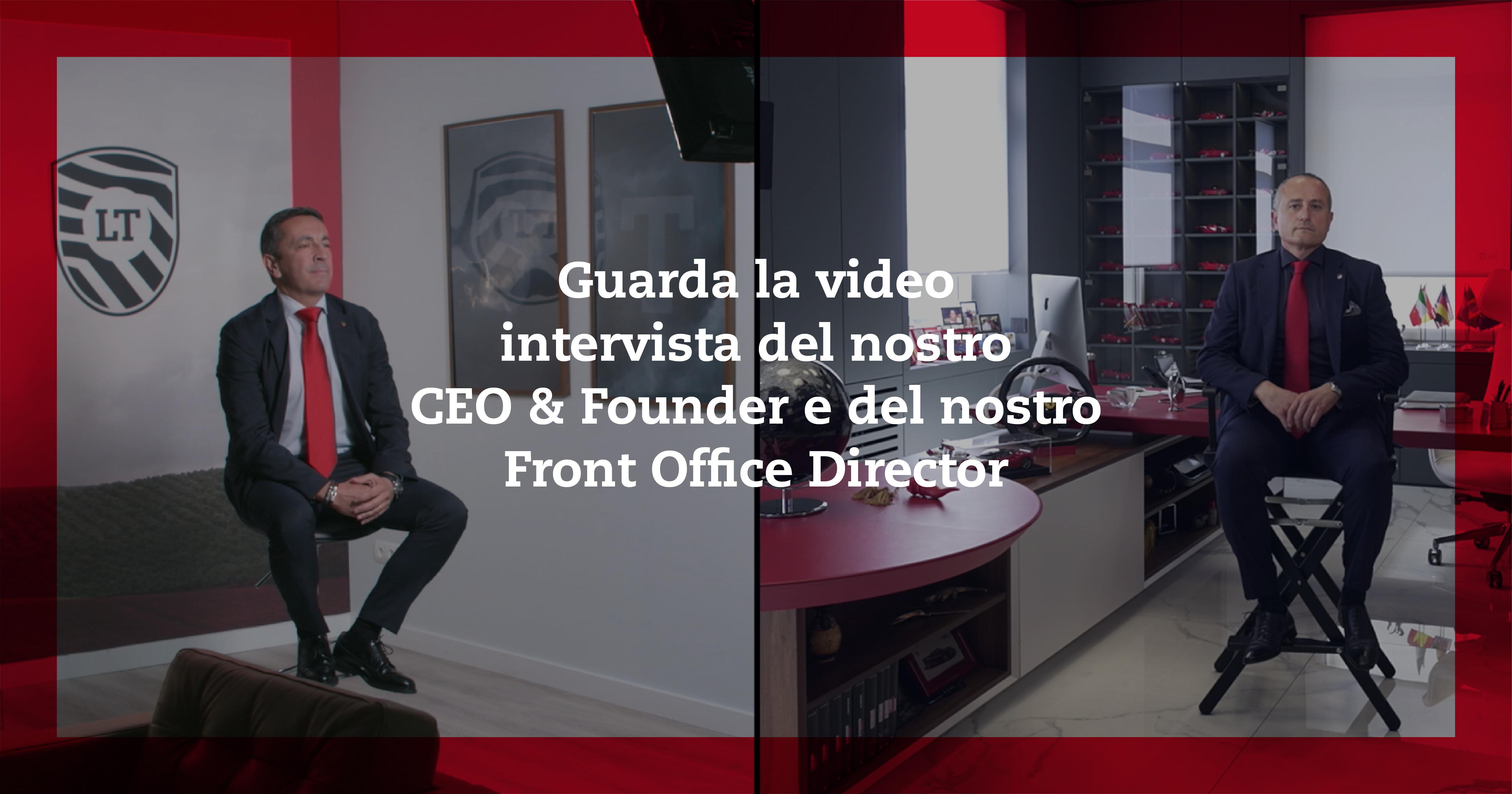 Intervista doppia: Giovanni Liccardo (CEO & Founder) e Juan Carlos Gomariz (Front Office Director)