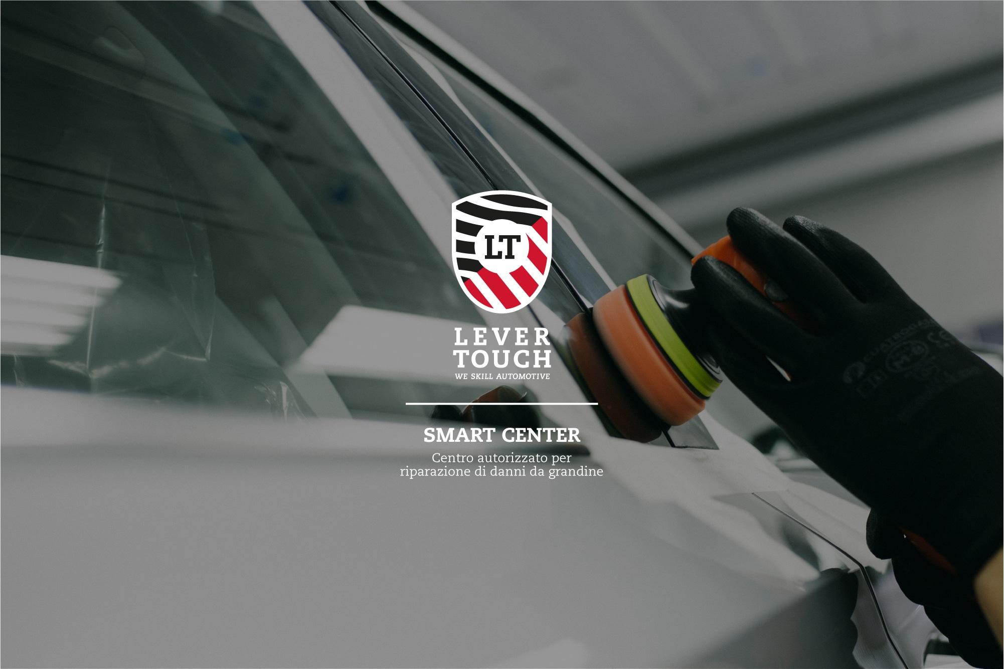 Officine auto per i danni da grandine in Italia: i Lever Touch Smart Center
